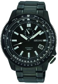 Seiko SSA007K1 black watch