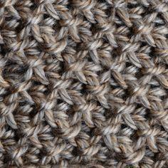 My Tunisian Crochet: Smock Stitch