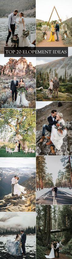 trending elopement ideas for intimate weddings  #wedding #weddingideas #weddingphotos