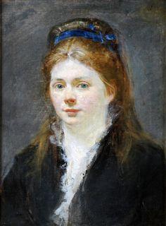 The Athenaeum - Portrait of Victorine Meurent (Edouard Manet - )