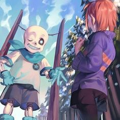"""""""Greetings, human! I'm Sans, the Magnificent Skeleton!"""" ————— 