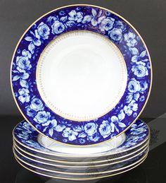 Cake Plate Rosenthal Bleu Royal**