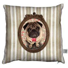 Cushion Carline Brown, £23.50, now featured on Fab.