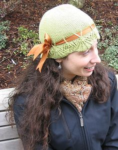 Pretty Spring Hats to knit for women – free patterns – Grandmother's Pattern Book