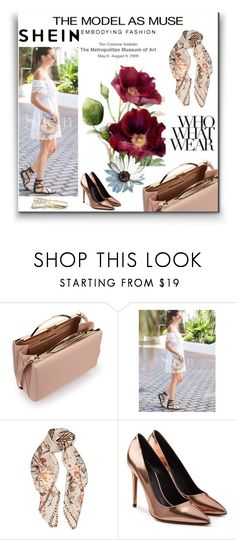 """""""SHEIN"""" by kiki-iil ❤ liked on Polyvore featuring Eddie Borgo, Roberto Cavalli, Alexander Wang and Who What Wear"""