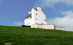 Corgarff Castle has recently been given a makeover. Note the star shaped encircling wall built after the '45 rebellion.