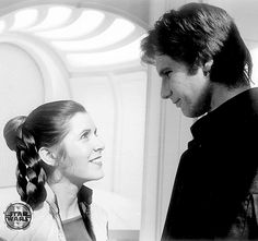 If you love Star Wars, specifically the original trilogy, then you have come to the right place! Carrie Fisher Harrison Ford, Debbie Reynolds Carrie Fisher, Han Solo Leia, Han And Leia, Star Wars Cast, Leia Star Wars, Star Wars Characters, Star Wars Episodes, Famous Pairs