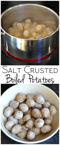 Salt Crusted Boiled Baby Potatoes & Quick, ignoring the meat and dairy. Baby Potato Recipes, Roast Chicken And Gravy, Pork Roast, Roast Brisket, Beef Tenderloin, Vegetarian Recipes Easy, Cooking Recipes, Game Recipes, Kitchens