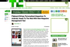 http://techcrunch.com/2013/05/09/flipboard-brings-personalized-magazines-to-android-heads-to-the-web-with-new-magazine-management-tool/ ... | #Indiegogo #fundraising http://igg.me/at/tn5/