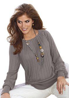 #OTTOWinterWeekend Eleganter #Damenpullover in attraktiver Ripp-Struktur aus 55% Baumwolle und 45% Viskose. 34,99 Euro