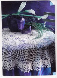 Magazine: Crochet Creations Hors-serie №01 HS 21 Nappes - Knit network - CREATIVE HANDS - Publisher - LIFE LINES