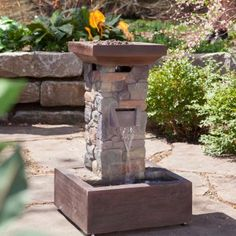 Bond Galiano Fire Fountain - Propane Fire Pits at Hayneedle