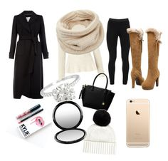 """""""winter"""" by kwhittaker208 on Polyvore featuring Monsoon, Miss Selfridge, Helmut Lang, Peace of Cloth, MICHAEL Michael Kors, Kylie Cosmetics, MAC Cosmetics and Jaeger"""