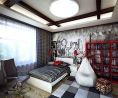 Resultado de imagen de decoracion habitaciones juveniles modernas
