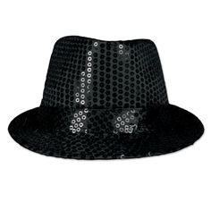 dfb644fcd77 Highlights  - black  one size fits most - quantity per case  6 Details · Party  Hats70s ...