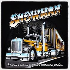 18 wheel beauties truck replica snowman 39 s rig from smokey the bandit cool 18 wheelers. Black Bedroom Furniture Sets. Home Design Ideas