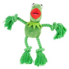 Disney Kermit The Frog Rope Body Dog Toy   Toys   PetSmart
