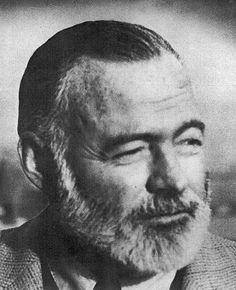 Ernest Hemingway, American author (1899-1961)
