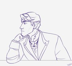 I randomly thought of Rhys winking at Feyre when he caught her staring at him or whatever, and then I somehow thought it would be fun to animate it lol. I don't do this often so it's not perfect but I tried my best~