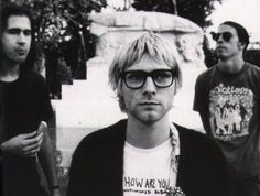 Here we are now, entertain us.......Nirvana....