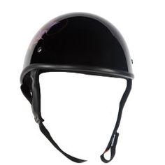 Low profile bike helmet