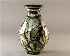 Vare: 4518425 Kähler vase Vase, Earthenware, Bowls, Tiles, Arts And Crafts, Porcelain, Miniatures, Pottery, Vintage