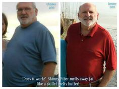 """This is from my friend Annette!! and what she said about her husbands progress!!! way to go!!  Okay family and friends, I cannot wait any longer to show my husband's progress with Skinny Fiber! People continue to ask, """"Does it work?"""" YES!! I have seen it, and continue to do so, in myself and right before my eyes, I am seeing my husband's belly and body transform! He is also Diabetic and his blood sugar is coming down too! Do you know how exciting this is?? He has been taking Skinny Fiber for…"""