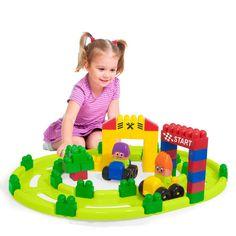 Miniland Educational Track Set #2 Super Blocks - Toyabella  - 2