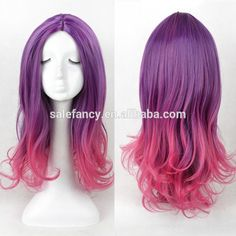 Guardians of the Galaxy Gamora Mixture Color Cosplay Wig Marval Women Full Wig QPWG-1112, View wig , YIWU FANCY Product Details from Yiwu Fancy Garment Factory on Alibaba.com