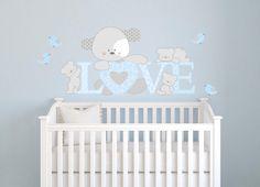 Adesivi Murali Bambini, Decorazioni Camerette, Cagnolino Love : Decorazioni per…
