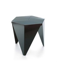 Side table / hexagonal / contemporary / aluminum PRISMATIC  vitra