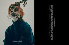 "cool Lorna Foran stars in ""The Constant Gardener"" for Danks S/S 2016 by Nhu Xuan Hua  [fashion]"