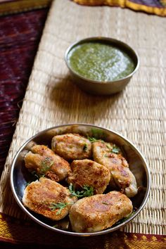 arbi cutlet or taro root cutlet - a crisp, tangy and lightly spiced snack.