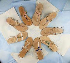 Ispiration selection colors for new  collection capri sandals www.deasandals.com  #sandali #shoes #infradito #sandaligioiello #sandalicapresi #jewel #jewelsandals #fashion #style #collection #deasandals #capri #colors #summer #beach