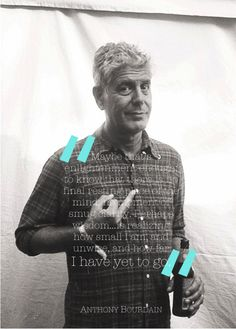 No Reservations ftw. Gotto luv Anthony Bourdain.