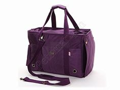 Petsmartpm Purple Nylon Dog Carrier Purse Pet Carrier Bag Cat Tote Bag Puppy Handbag Doggy Cage ** Check out this great image (This is an affiliate link and I receive a commission for the sales) : Cat Cages, Carrier and Strollers Dog Carrier Purse, Dog Purse, Cat Carrier, Small Dog Accessories, Oxford Bags, Designer Dog Carriers, Cat Cages, Pet Bag, Dog Training Pads
