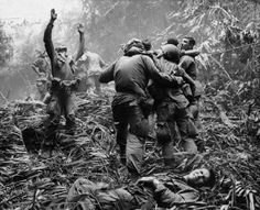Photo by Art Greenspon/AP - Vietnam War. April 1968