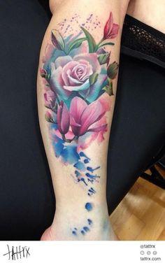 Watercolor Tattoo Mecca