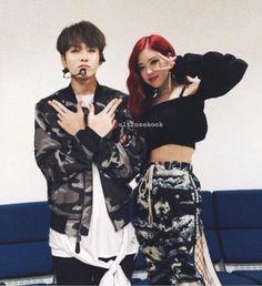 Jungkook Fanart, Jungkook V, Kpop Couples, Cute Couples, Bts Girl, Blackpink And Bts, Choi Seung Hyun, Couple Photography Poses, Park Chaeyoung