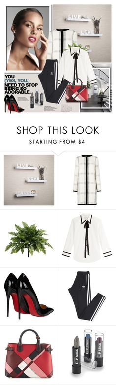 """""""ALICIA KEYS . 04.12.2016"""" by goharkhanoyan ❤ liked on Polyvore featuring Givenchy, Danya B, L.K.Bennett, WALL, Marc Jacobs, Christian Louboutin, adidas and Burberry"""