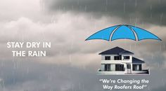 Avoid delays due to weather conditions and get your job done on time! Roof Umbrella provides the perfect solution for your roofing project by allowing you to keep your site dry.   #RoofUmbrella #RoofSafety #Tools #Roofing #Contractor #Weatherprotection