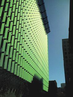 BIOS-FIN system = Algae Biofiltration to Biofuel Building Facade System