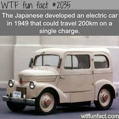 The Japanese electric car - History  fun facts