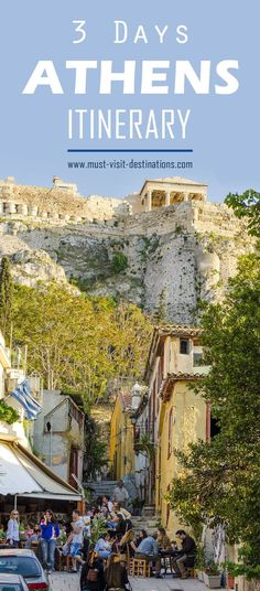 Only 3 days in Athens? No problem! Check out this itinerary! #must-visit #travel