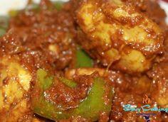 Spicy capsicum chicken