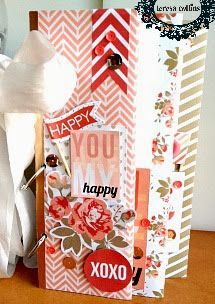 TERESA COLLINS DESIGN TEAM: You are my Happy Mini by Yvonne Blair