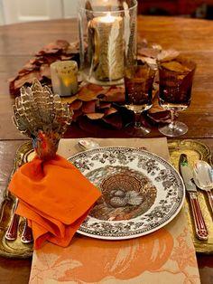 Thanksgiving 2020, Thanksgiving Recipes, Peanut Cake, Pound Cake Glaze, Turkey Plates, Tom Turkey, Winter Table, Faux Bamboo, Evening Meals