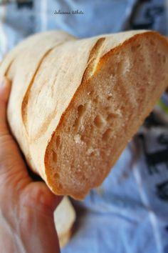 Delicious Titbits: Chleb pszenny codzienny Food, Bread Recipes, Breads, Essen, Meals, Yemek, Eten