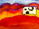 Artsonia is a kids art museum where young artists and students display their art for other kids worldwide to view. This gallery displays schools and student art projects in our museum and offer exciting lesson plan art project ideas. Cow Paintings On Canvas, Painting Collage, Painting & Drawing, Cow Art, Southwest Art, School Art Projects, Art Lessons Elementary, Art Lesson Plans, Western Art