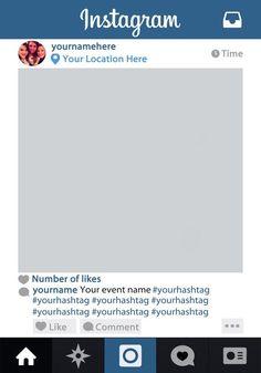 instagram photo booth - Buscar con Google